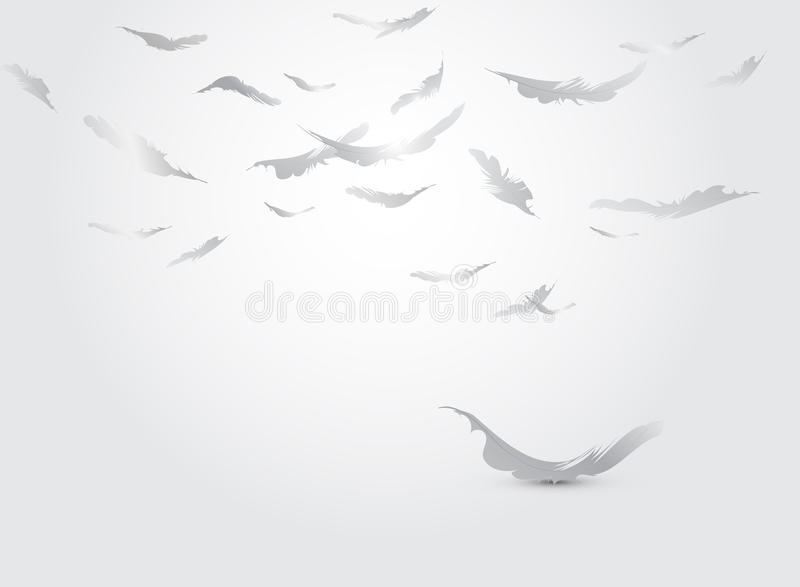 перо предпосылки иллюстрация штока