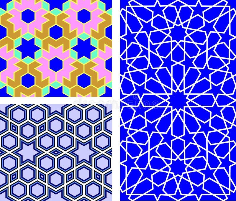персиянка геометрии иллюстрация штока