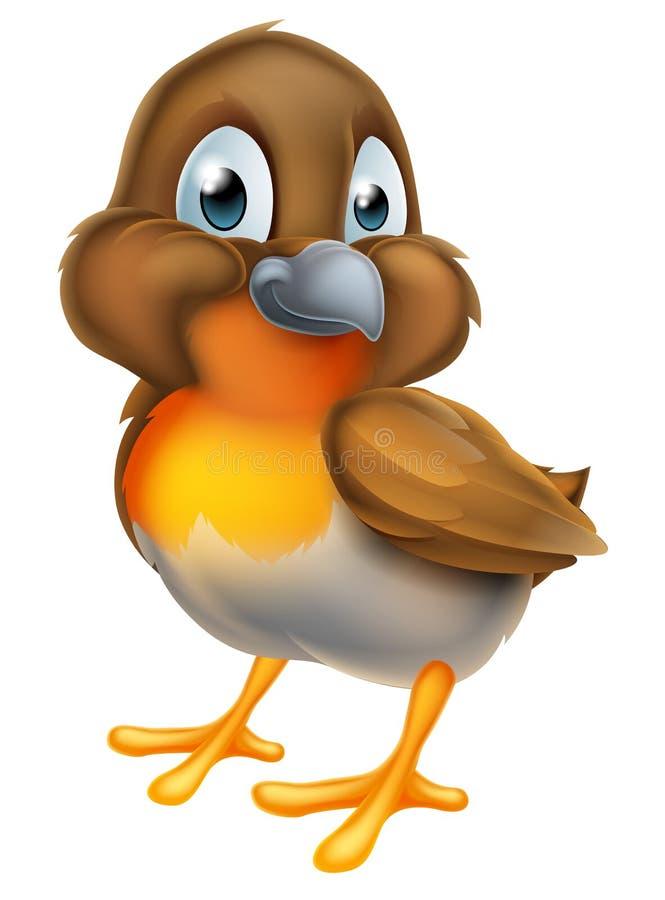 Персонаж из мультфильма птицы Робина иллюстрация вектора