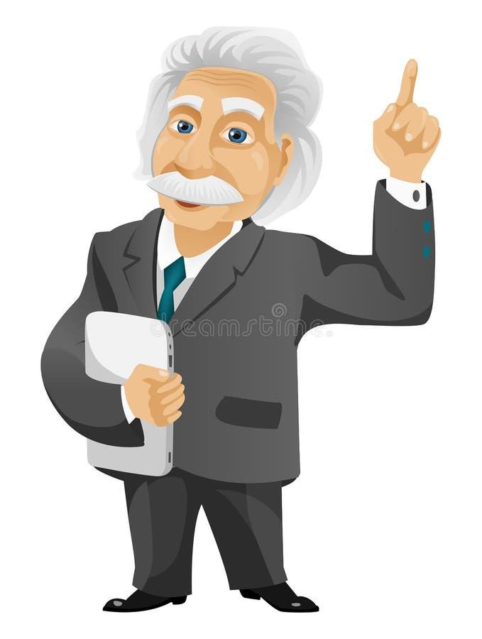 Эйнштейн стоковое изображение rf