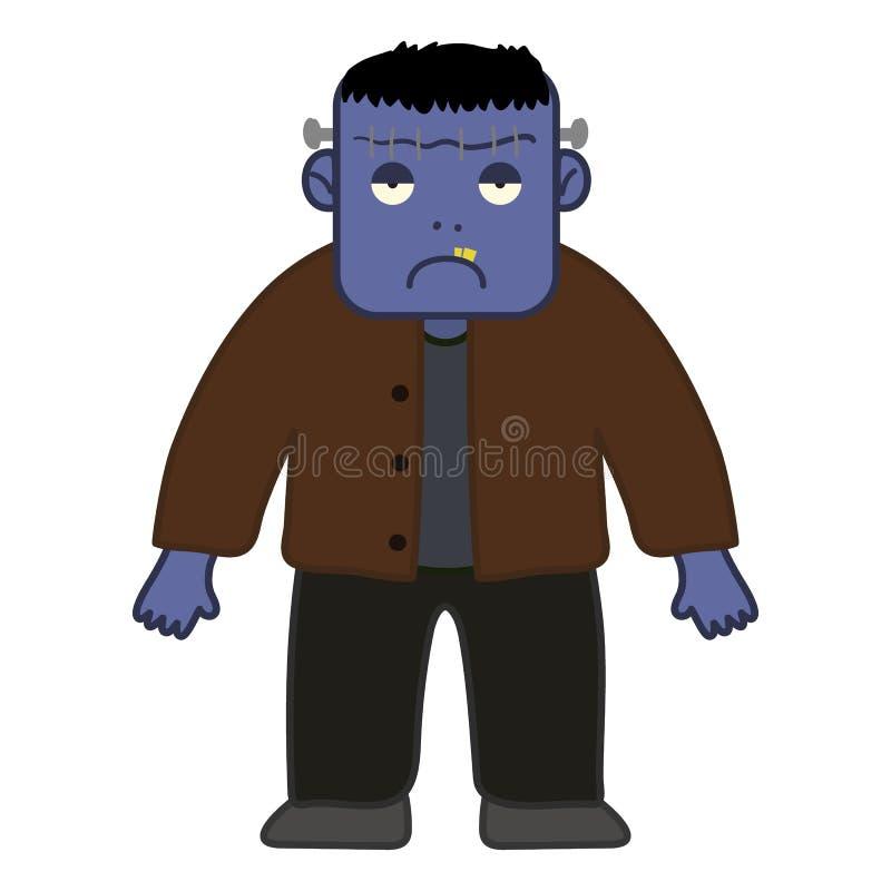 Персонаж из мультфильма Frankenstein хеллоуина стоковое изображение