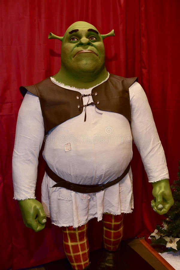 Персонаж из мультфильма Shrek стоковое фото
