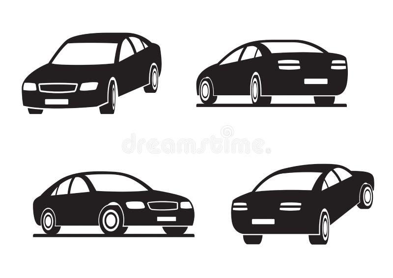 перспектива автомобилей бесплатная иллюстрация