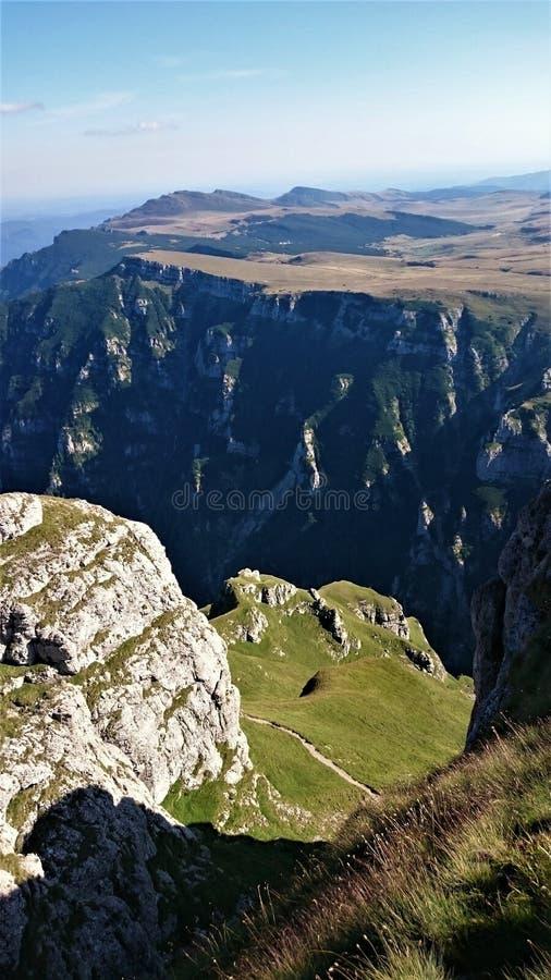 Перспектива горы верхняя стоковые фото