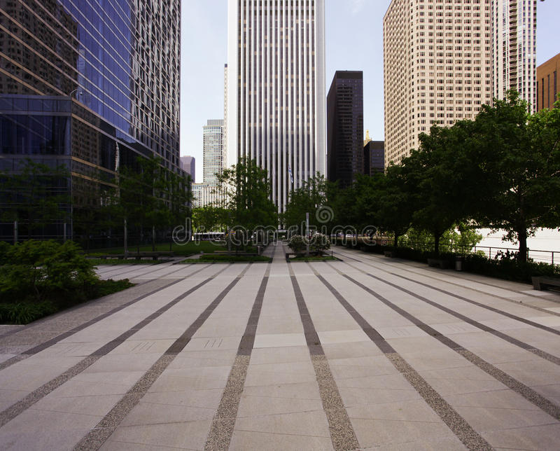 Перспектива здания стоковая фотография rf