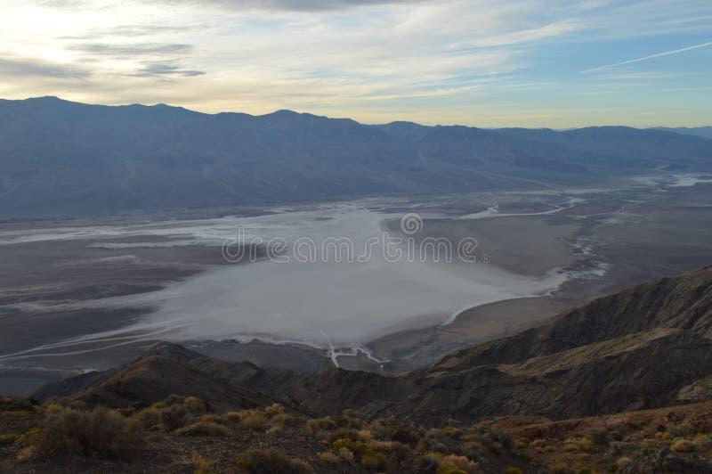 Перспектива Death Valley стоковое фото rf