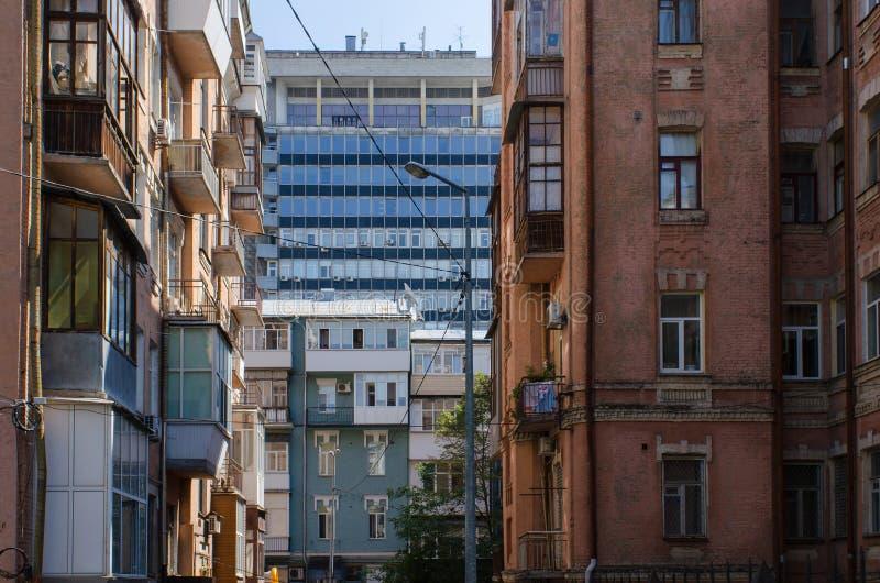 Перспективы Киева стоковое изображение