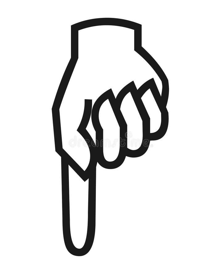 привлекающие картинка палец указывающий вниз забирают