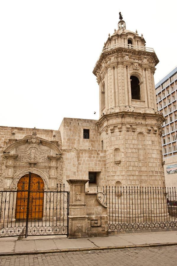 Перуанская архитектура стоковое фото rf