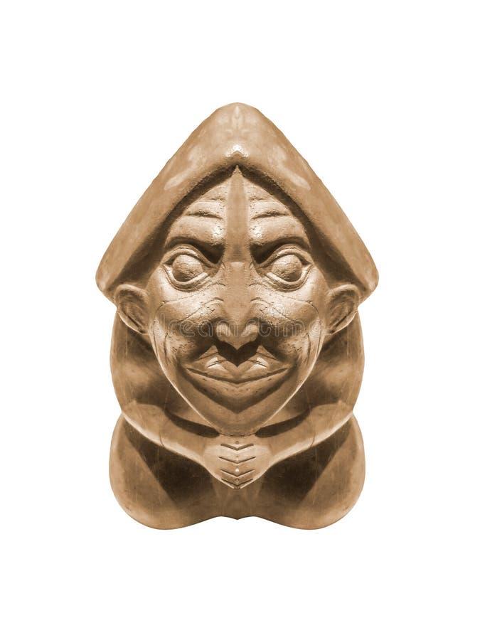 Перуанская Пре-колумбийская скульптура стоковые изображения rf