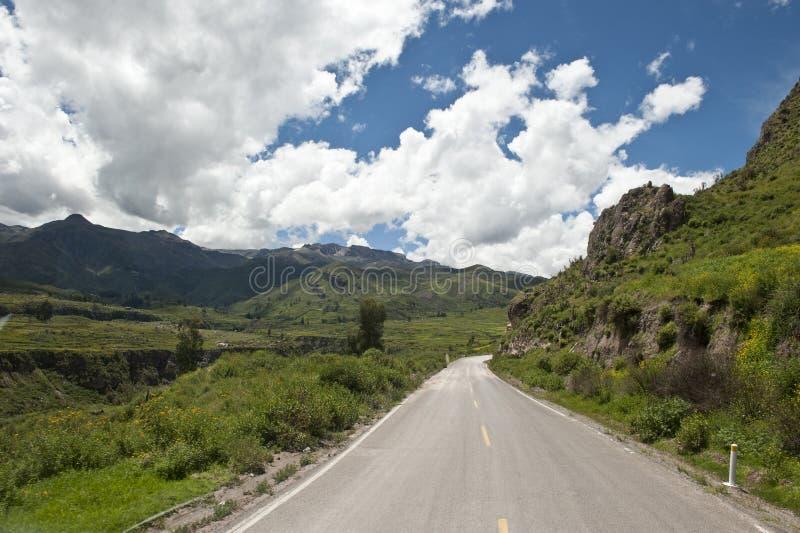 Перуанская проезжая часть стоковые изображения rf