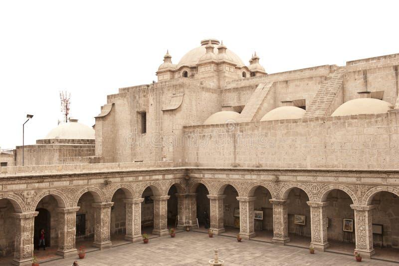 Перуанский двор стоковое изображение