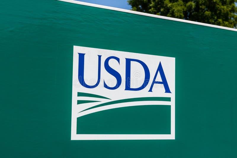 Перу - около 20118 -го август: Пункт обслуживания USDA Министерство сельского хозяйства США ответственно для законов связанных к  стоковая фотография