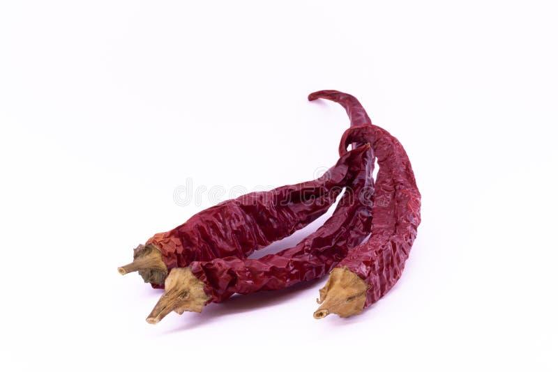 перцы высушенные chili горячие красные стоковое фото rf