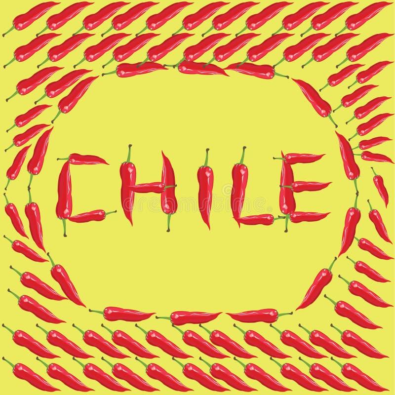 Download Перцы красного Chili - иллюстрация Иллюстрация вектора - иллюстрации насчитывающей перцы, цвет: 41651851
