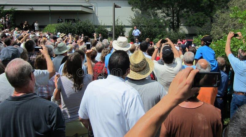 Перчатка Romney кандидата в президенты стоковые изображения rf