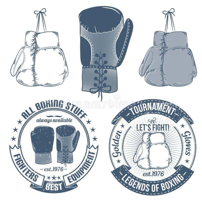 Перчатки бокса бесплатная иллюстрация