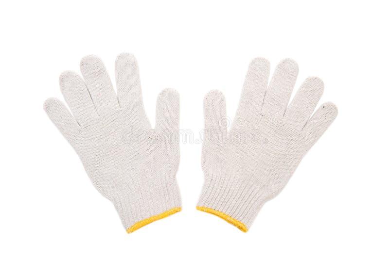 перчатки изолировали белую деятельность стоковая фотография rf