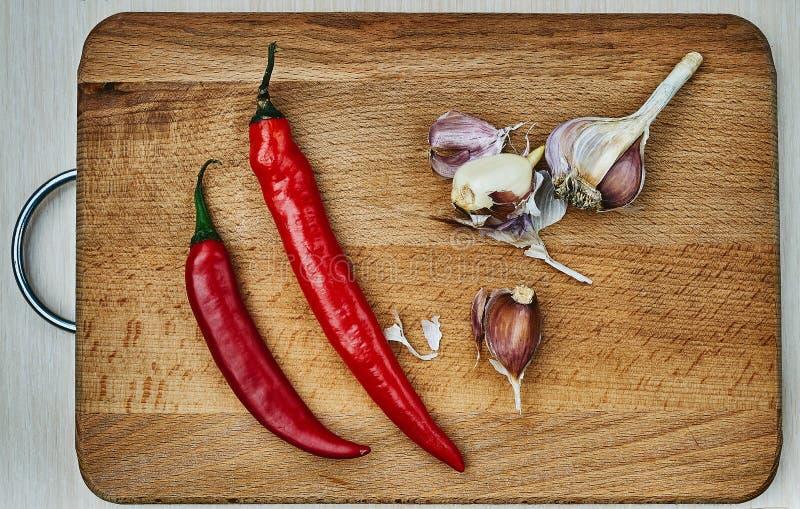 Перчит овощ, свежий, chili, варя стоковая фотография rf