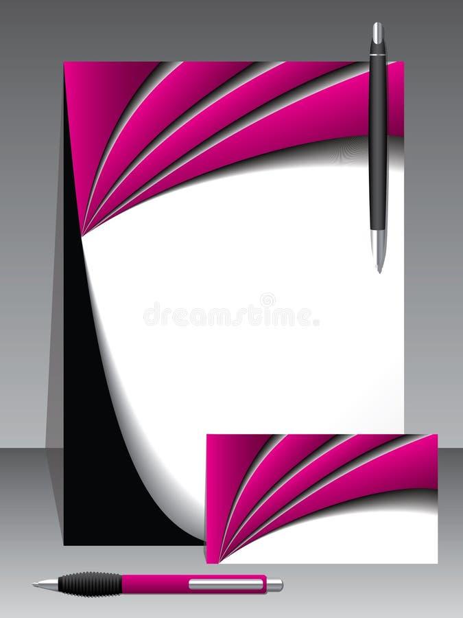перя дела установили вектор 2 иллюстрация вектора