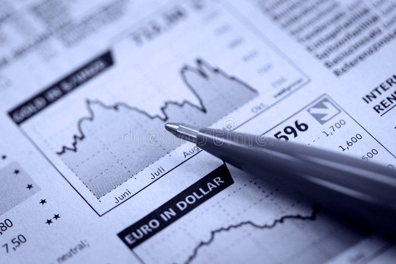 Download пер газеты экономии стоковое фото. изображение насчитывающей ежедневно - 6857960