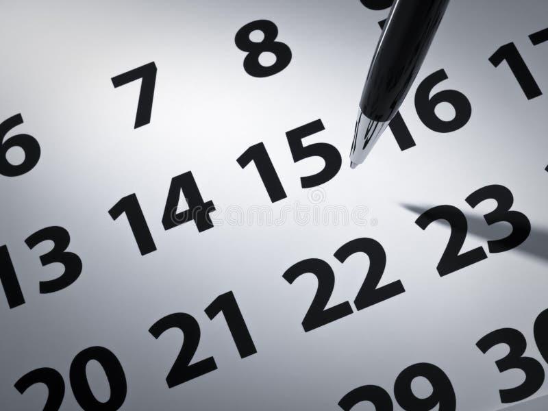пер календара стоковое фото