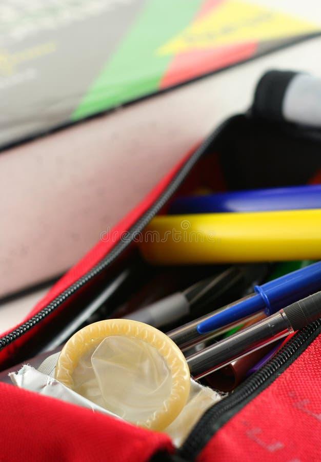 пер презерватива случая стоковые фотографии rf