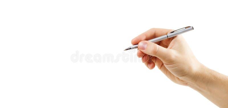 пер человека руки стоковое фото