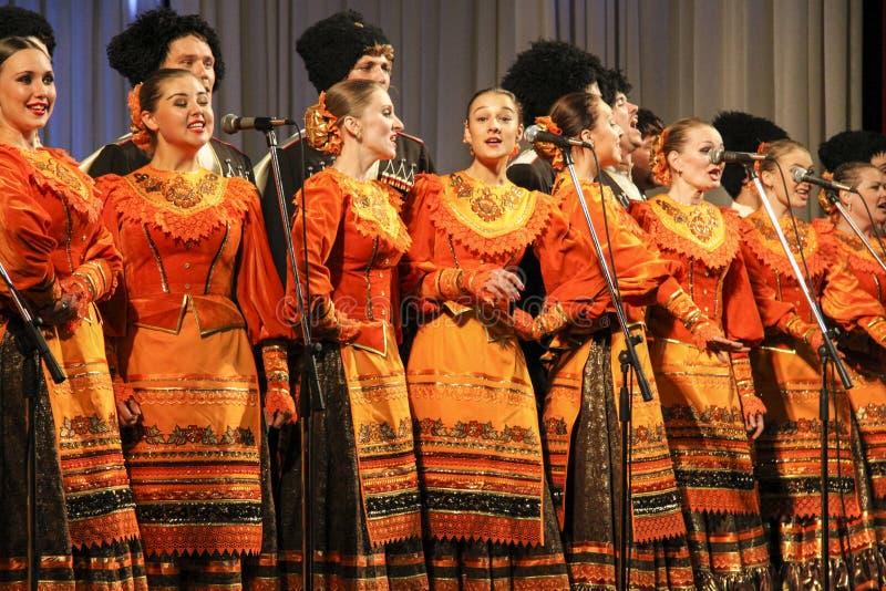 Песни Кубани стоковые фото