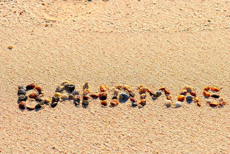 песок Багам стоковые изображения rf