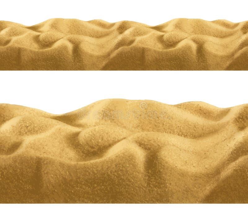 Песок, безшовная предпосылка бесплатная иллюстрация