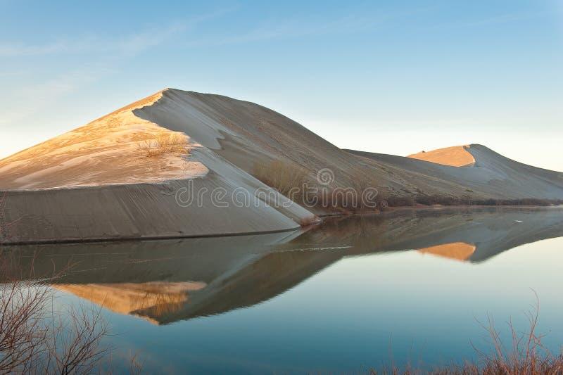 песок дюн bruneau стоковая фотография