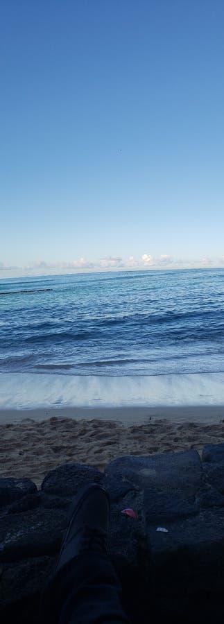Песок и спокойствие стоковые изображения rf
