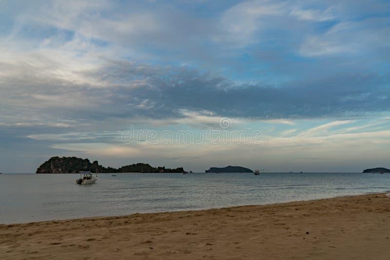 песок моря и пляж стоковое фото rf
