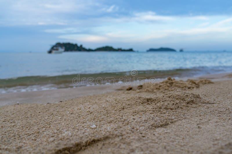 песок моря и пляж стоковые фотографии rf