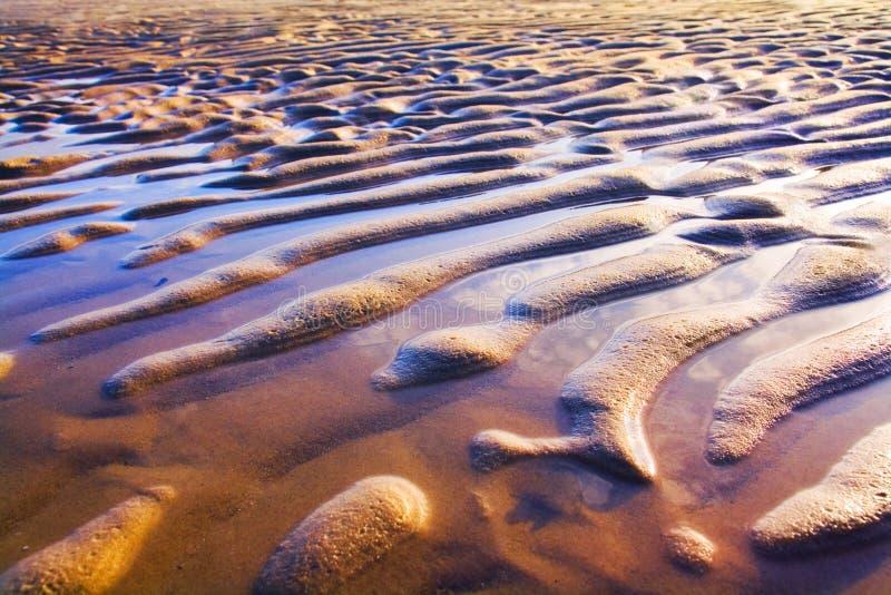песок пульсаций стоковое фото