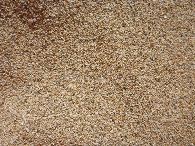 Песок пляжа Оаху стоковые изображения