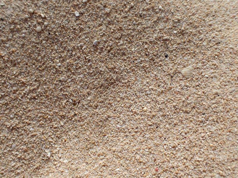 Песок пляжа Оаху стоковое изображение