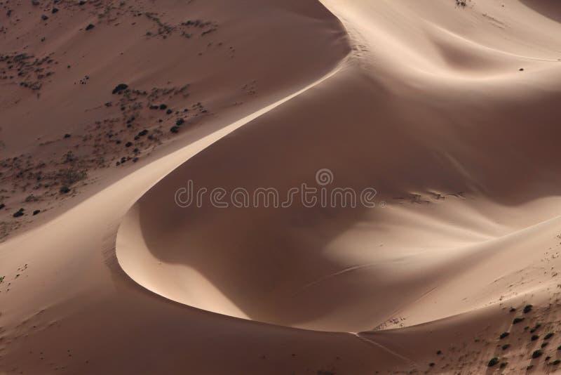 песок холма пустыни стоковое изображение rf