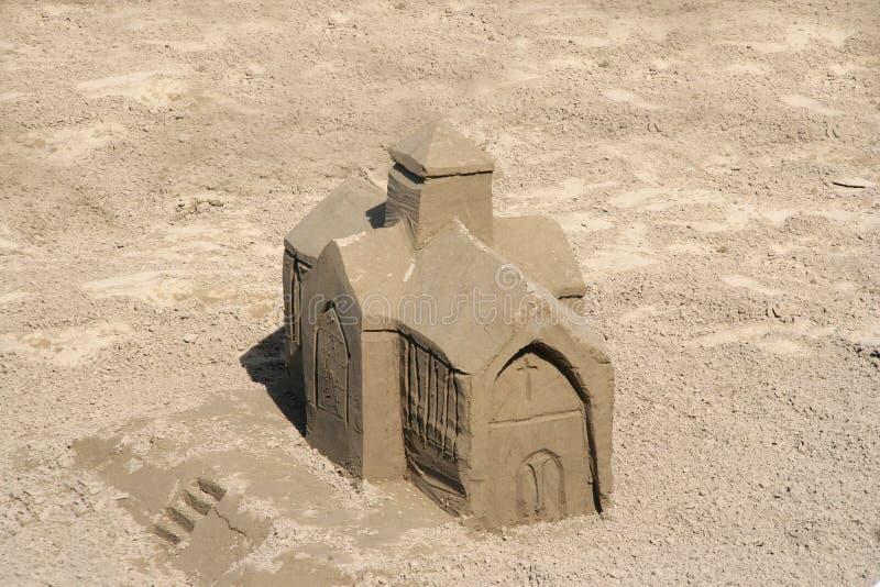 песок церков стоковая фотография rf