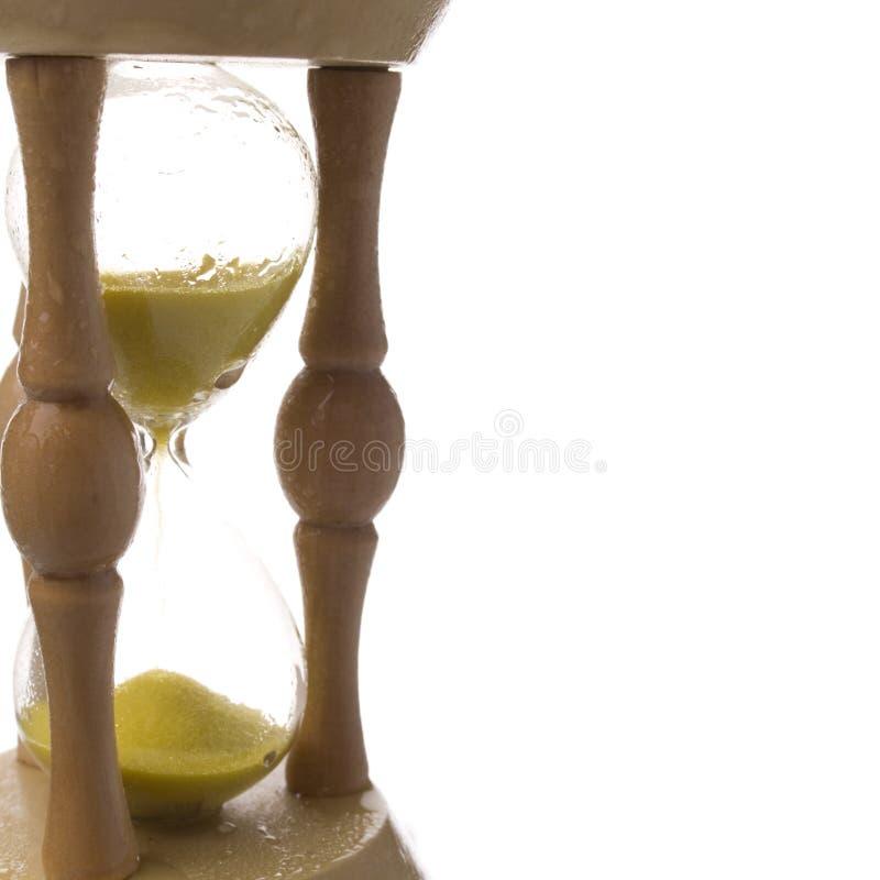 песок часов влажный стоковая фотография rf