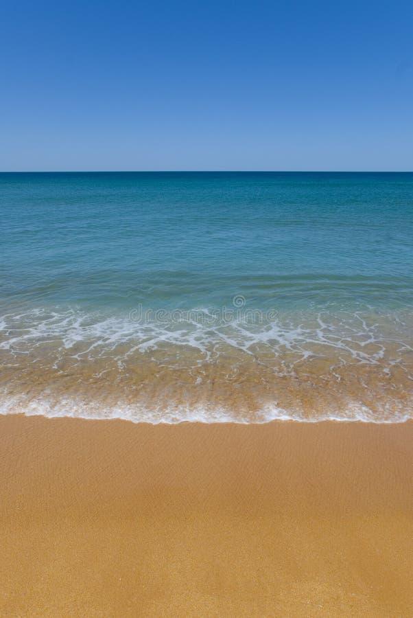 песок copyspace пляжа совершенный стоковые изображения rf