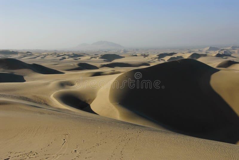 песок huacachina дюн стоковая фотография rf