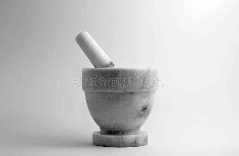 пестик ступки стоковое фото