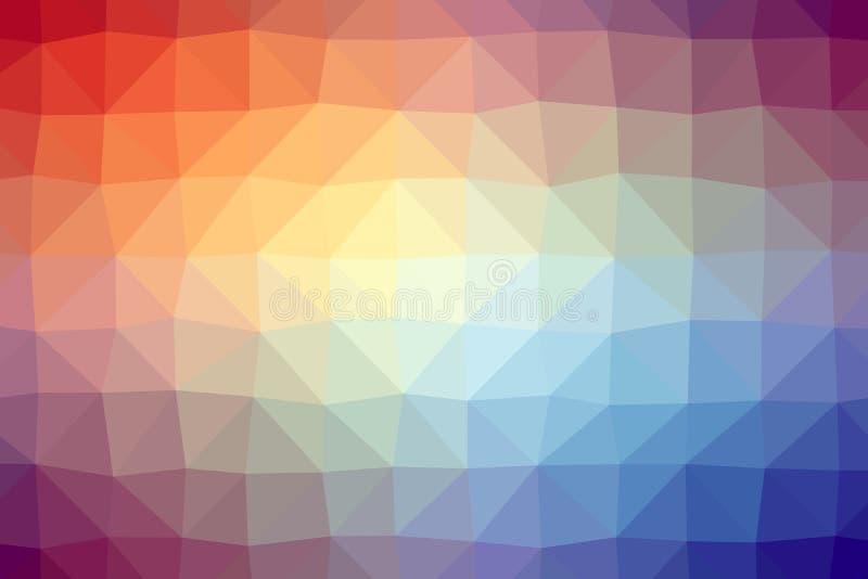 Пестротканые низкого уровня backgounds polly бесплатная иллюстрация