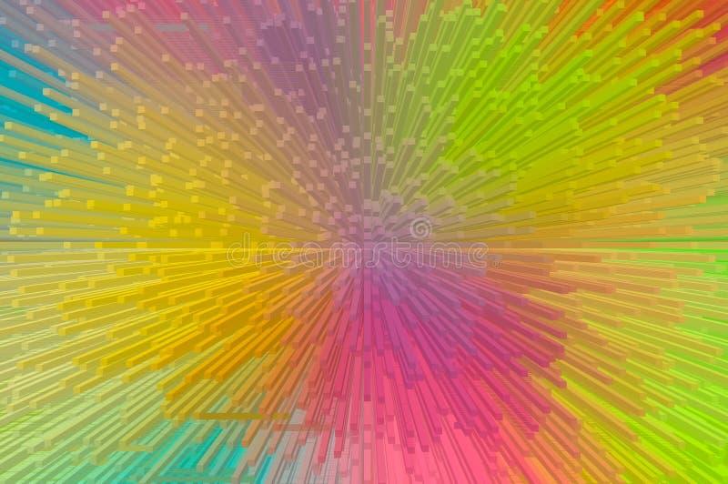 Пестротканый прессует абстрактная предпосылка стоковое фото rf