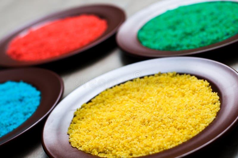 Пестротканый рис стоковое изображение