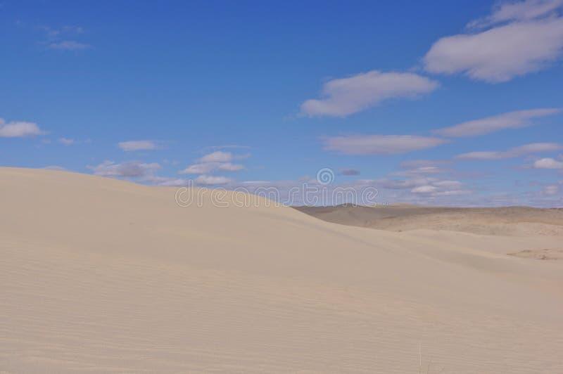 Песчанные дюны Вайоминг Killpecker США стоковое изображение rf