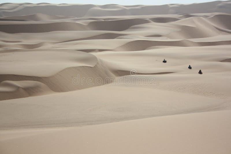 Песчанные дюны в пустыне Namib стоковая фотография