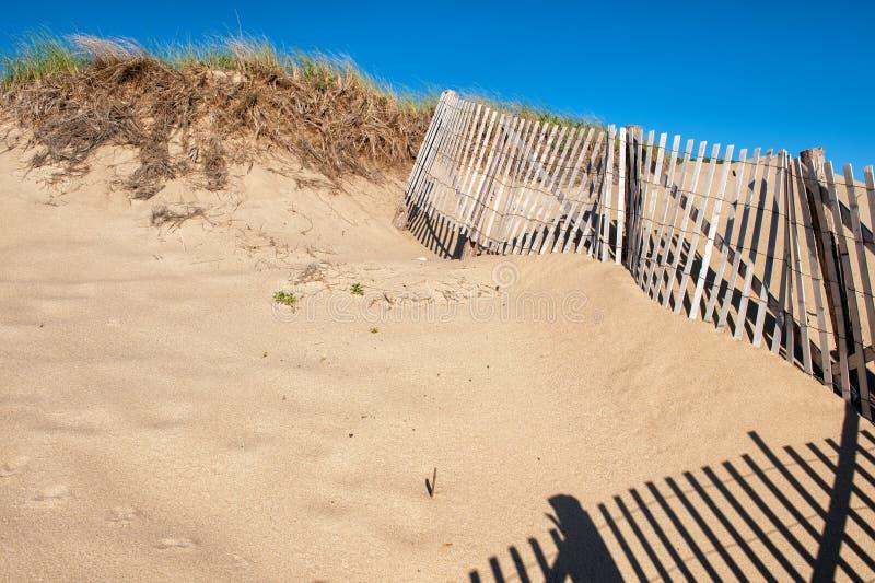 Песчанные дюны на треске плащи-накидк стоковое изображение rf